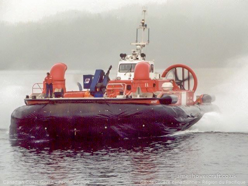 AP1-88 craft operating with the Canadian Coastguard - AP1-88 craft SIYAY from in-front (Paul Brett).