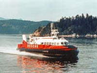 SRN craft operating with the Canadian Coastguard - Hovercraft 039 (Paul Brett).