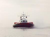 SRN craft operating with the Canadian Coastguard - Hovercraft 045 (Paul Brett).