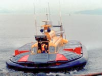 SRN craft operating with the Canadian Coastguard - Hovercraft 086 (Paul Brett).