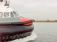 SRN craft operating with the Canadian Coastguard - Canadian Coastguard Hovercraft - Clips from a movie capture (Paul Brett).