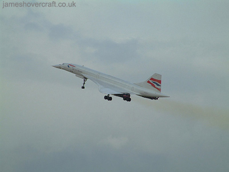 Concorde celebratory visit to Birmingham - G-BOAC at Birmingham 2002 (Andy Dunn) (Andy Dunn).