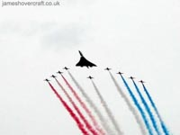 Concorde at the Queen's Golden Jubilee - Concorde at the Queen's Golden Jubilee, 2000 (Andy Rice) (Andy Rice).