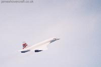 Concorde photographs - Concorde G-BOAF departs LHR for JFK (Photo: me) (James Rowson).