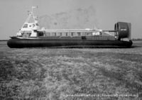 AP1-88 hovercraft during trial flights -   (The <a href='http://www.hovercraft-museum.org/' target='_blank'>Hovercraft Museum Trust</a>).