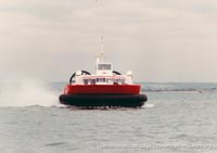 AP1-88 hovercraft at Ryde hoverport -   (The <a href='http://www.hovercraft-museum.org/' target='_blank'>Hovercraft Museum Trust</a>).