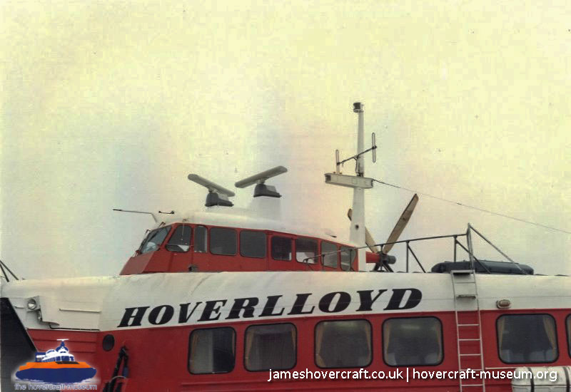 SRN4 at Pegwell Bay -   (The <a href='http://www.hovercraft-museum.org/' target='_blank'>Hovercraft Museum Trust</a>).