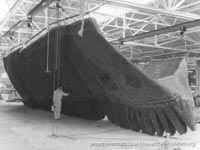 SRN4 stretched to Mark 3 - SUPER 4 in 1978-9 -   (The <a href='http://www.hovercraft-museum.org/' target='_blank'>Hovercraft Museum Trust</a>).