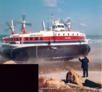 SRN4 Sir Christopher (GH-2008) with Hoverspeed -   (The <a href='http://www.hovercraft-museum.org/' target='_blank'>Hovercraft Museum Trust</a>).