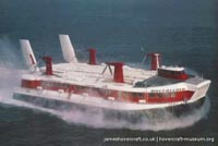 SRN4 Swift (GH-2004) with Hoverlloyd -   (The <a href='http://www.hovercraft-museum.org/' target='_blank'>Hovercraft Museum Trust</a>).