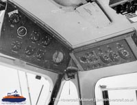 SRN6 close-up details - Cabin (The Hovercraft Museum Trust).