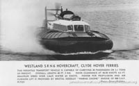 SRN6 with Clyde Hoverferries in Scotland -   (The <a href='http://www.hovercraft-museum.org/' target='_blank'>Hovercraft Museum Trust</a>).