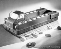 Various hovercraft manufacturers