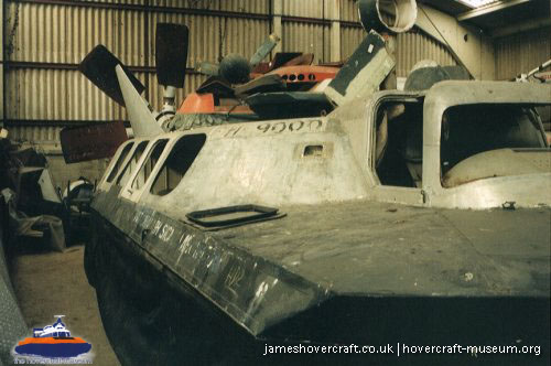Hover Development HD2 at the Hovercraft Museum -   (The <a href='http://www.hovercraft-museum.org/' target='_blank'>Hovercraft Museum Trust</a>).