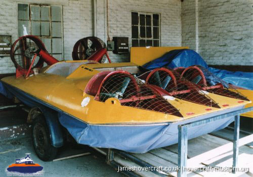 The Lubricat -   (The <a href='http://www.hovercraft-museum.org/' target='_blank'>Hovercraft Museum Trust</a>).