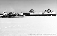 Military Hovercraft - the LCAC on ice -   (The <a href='http://www.hovercraft-museum.org/' target='_blank'>Hovercraft Museum Trust</a>).
