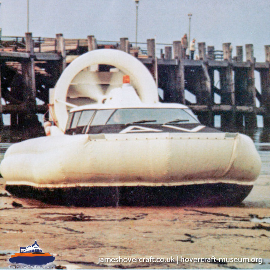 Unknown hovercraft -   (The <a href='http://www.hovercraft-museum.org/' target='_blank'>Hovercraft Museum Trust</a>).
