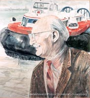 Sir Christopher Cockerell -   (The <a href='http://www.hovercraft-museum.org/' target='_blank'>Hovercraft Museum Trust</a>).