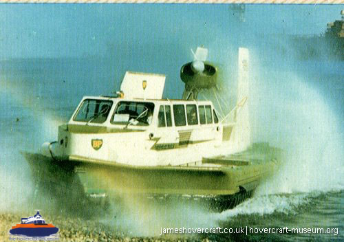 Vickers Hovercraft VA2 -   (The <a href='http://www.hovercraft-museum.org/' target='_blank'>Hovercraft Museum Trust</a>).