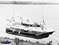Vickers VA3 being delivered -   (The Hovercraft Museum Trust).