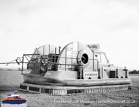 Vickers Hovercraft farming concept model -   (The Hovercraft Museum Trust).