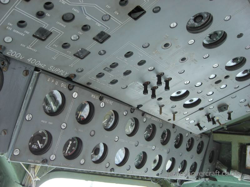 BH7 at the 2009 Hovershow - Overhead panel for BH7 (James Rowson).