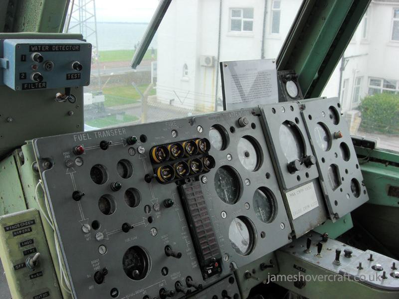 BH7 at the 2009 Hovershow - Main instrument panel (James Rowson).