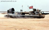 Military Hovercraft - Royal Marines Griffon 2000TD (Margaret Ackroyd).