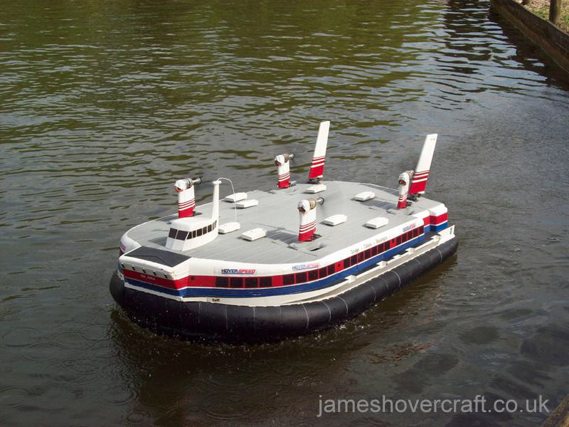 Mark Porter's Model Hovercraft - SRN4 Swift (Tim Stevenson).