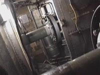 SRN4 systems tour - Engines in-situ on the starboard (right) side of the craft, as seen from Number 2 engine (James Rowson).