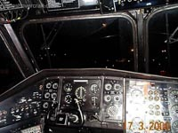 SRN4 Mk III Cockpit - Captain's instruments (James Rowson).