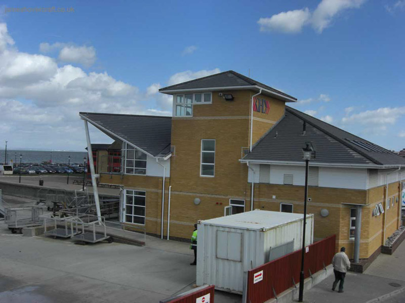 Hovertravel's new building at Ryde, Isle of Wight - Terminal building (James Rowson).