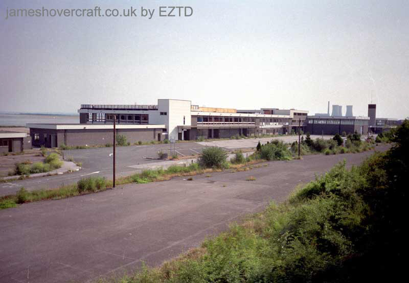 Ramsgate hoverport site, derelict - The site of Ramsgate hoverport and its terminal buildings (EZTD).